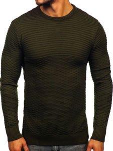 Zelený pánský svetr Bolf 319