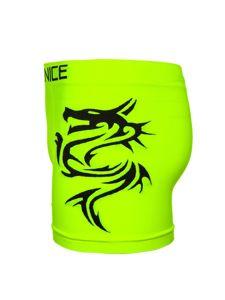 Žluto-neonové pánské boxerky Bolf PL4258