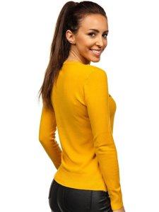 Žlutý dámský svetr Bolf AL0204L