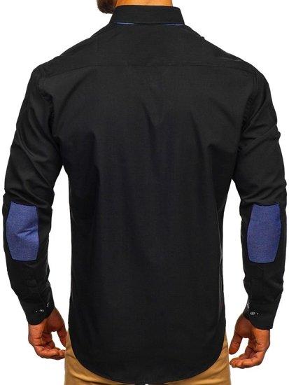 Pánská košile BOLF 3725 černá
