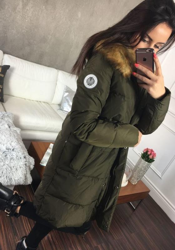 Khaki Women's Winter Jacket Bolf 8063